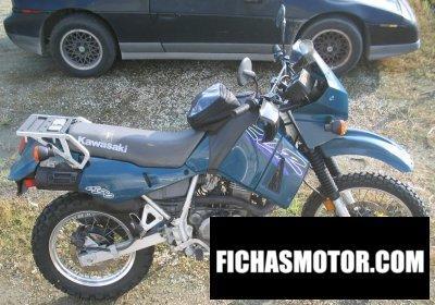 Ficha técnica Kawasaki klr 650 1998