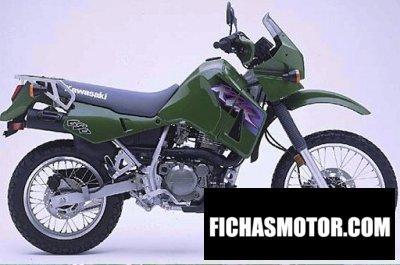 Imagen moto Kawasaki klr 650 año 2000