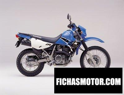 Ficha técnica Kawasaki klr 650 2001