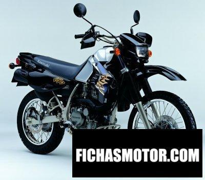 Ficha técnica Kawasaki klr 650 2004