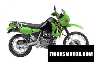 Ficha técnica Kawasaki klr 650 2006
