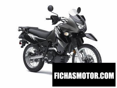 Imagen moto Kawasaki klr 650 año 2011