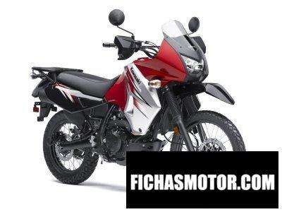 Imagen moto Kawasaki klr 650 año 2012