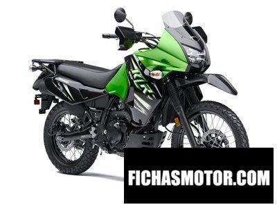 Ficha técnica Kawasaki klr 650 2014