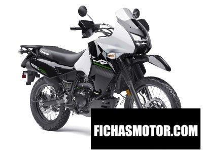 Ficha técnica Kawasaki klr 650 2015