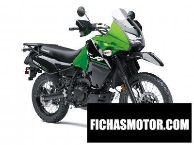 Imagen moto Kawasaki klr 650 año 2016
