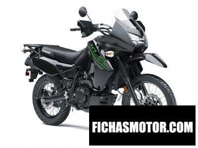 Imagen moto Kawasaki klr 650 año 2017