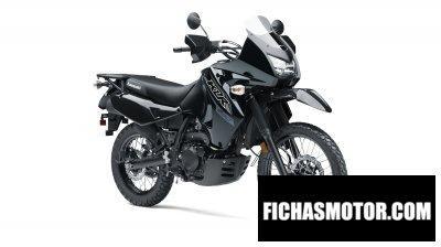 Imagen moto Kawasaki klr 650 año 2018
