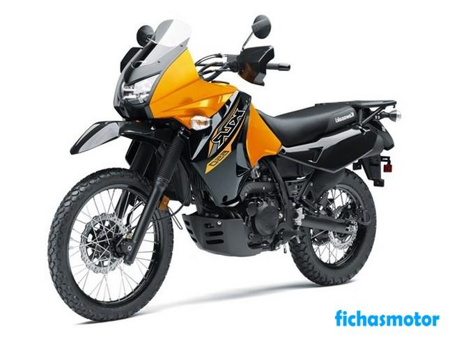 Ficha técnica Kawasaki KLR 650 2020