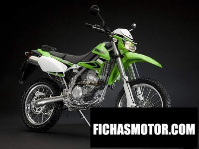 Ficha técnica Kawasaki klr250s 2008
