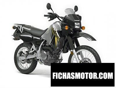 Imagen moto Kawasaki klr650 año 2007