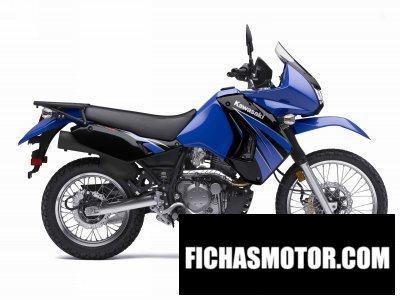 Ficha técnica Kawasaki klr650 2009