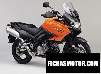 Ficha técnica Kawasaki klv 1000 2008