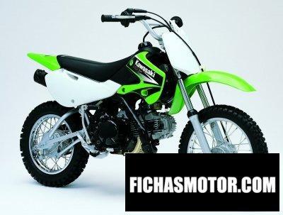 Imagen moto Kawasaki klx 110 año 2004