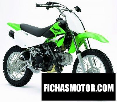 Ficha técnica Kawasaki klx 110 2005