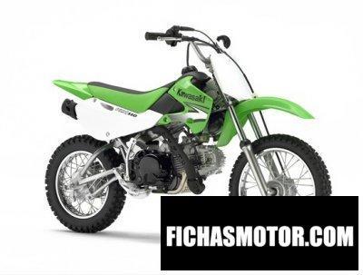 Ficha técnica Kawasaki klx 110 2007