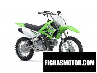 Imagen moto Kawasaki klx 110 año 2011