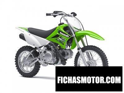 Ficha técnica Kawasaki klx 110 2013