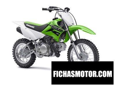 Ficha técnica Kawasaki klx 110 2015