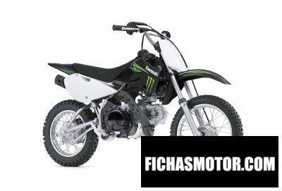 Ficha técnica Kawasaki klx 110 monster energy 2009