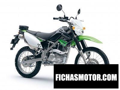 Imagen moto Kawasaki klx 125 año 2010