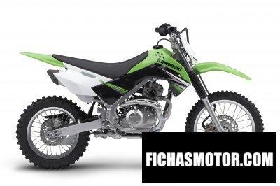 Imagen moto Kawasaki klx 140 año 2009