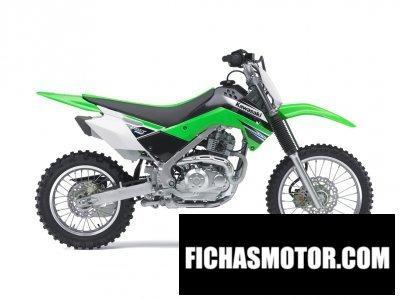 Ficha técnica Kawasaki klx 140 2011