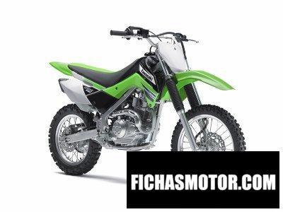 Imagen moto Kawasaki klx 140 año 2012