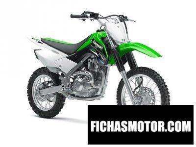 Ficha técnica Kawasaki klx 140 2014