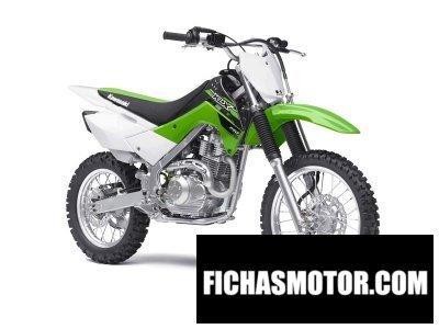 Ficha técnica Kawasaki klx 140 2015