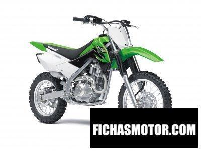 Imagen moto Kawasaki klx 140 año 2017