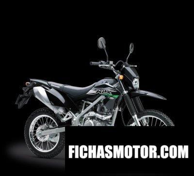 Imagen moto Kawasaki klx 150 año 2018