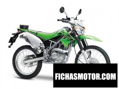Imagen moto Kawasaki klx 150l año 2015