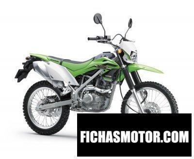Imagen moto Kawasaki klx 150l año 2016