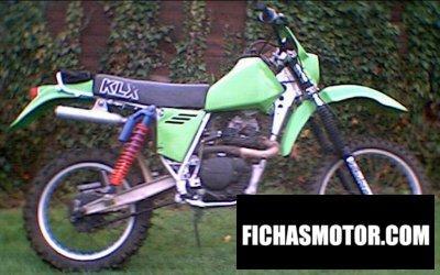 Ficha técnica Kawasaki klx 250 1981