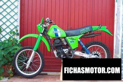 Ficha técnica Kawasaki klx 250 1983