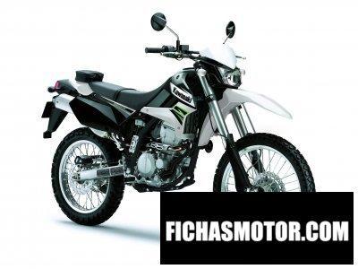 Imagen moto Kawasaki klx 250 año 2011