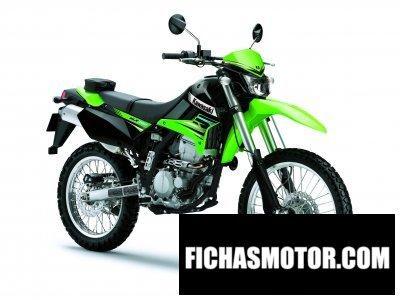 Imagen moto Kawasaki klx 250 año 2012