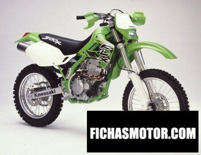 Imagen moto Kawasaki klx 300 r año 2002