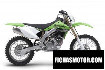 Imagen moto Kawasaki klx 450 r año 2009