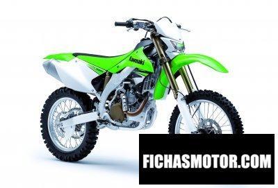 Ficha técnica Kawasaki klx 450r 2008