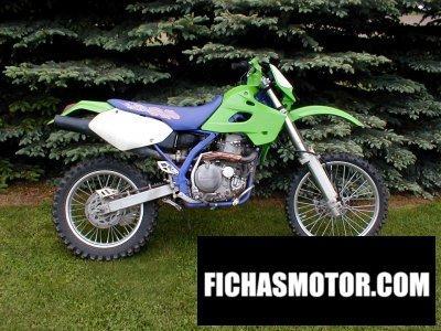 Imagen moto Kawasaki klx 650 año 1993