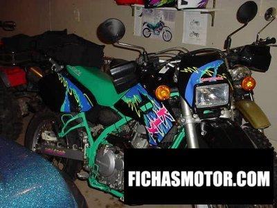 Ficha técnica Kawasaki klx 650 1994