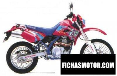 Ficha técnica Kawasaki klx 650 1995