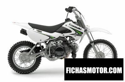 Imagen moto Kawasaki klx110 año 2008