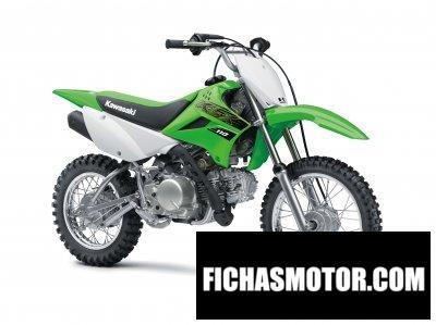 Ficha técnica Kawasaki KLX110 2020