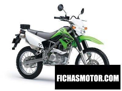 Ficha técnica Kawasaki klx125 2015