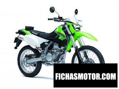 Imagen moto Kawasaki klx250 año 2016