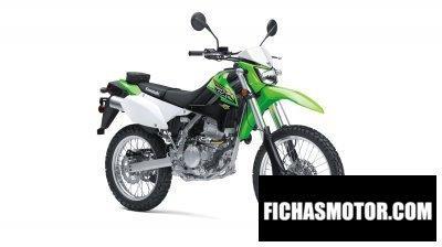 Ficha técnica Kawasaki klx250 2018