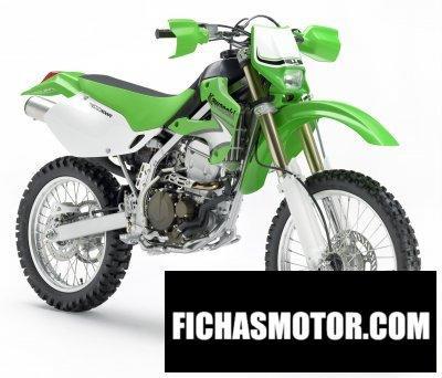 Ficha técnica Kawasaki klx300r 2008